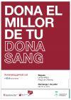 donació sang cartell