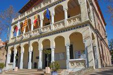 Façana de l'Ajuntament de Begues