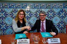 Moment de la signatura del protocol