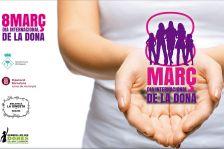 Imatge del 8 de març a Begues