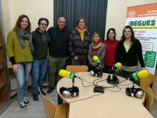 Visita a Ràdio Begues
